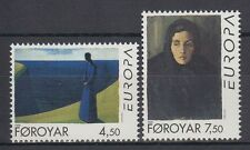 Färöer 1996 ** Mi.296/97 Kunst Art | Gemälde Paintings | Sámal Joensen-Mikines