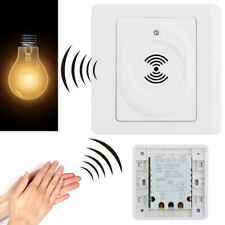 Smart Wall Mount Home Voice Control Lamp Switch Sound Activated Light Sensor