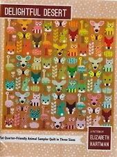 Delightful Desert - pieced quilt PATTERN in 3 sizes - Elizabeth Hartman