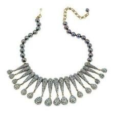 """Heidi Daus """"Infinite Glamour"""" Beaded Crystal Drop Necklace $500 Retail New W/Tag"""