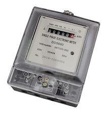 1-Phasen 230V 10A Stromzähler Wechselstromzähler Zwischenzähler Zähler