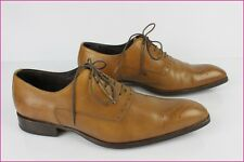 Richelieu FATHERS and SONS Tout Cuir Marron Clair UK 7 / FR 40 TBE