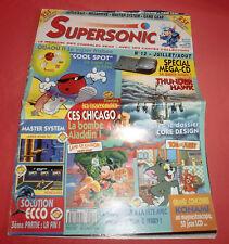 Magazine SuperSonic [n°12 J/A 93] Sega Megadrive CD Ecco Cool spot Aladdin *JRF