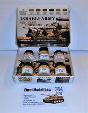 Set MIMETICO Israeli Army Vehicle & Uniforms, 6 colori Lifecolor cs32 NUOVO