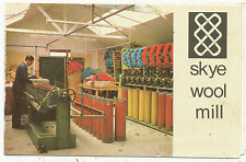 Skye Wool Mill, advertisement with postcard