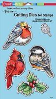 Winter Tweets Birds, High Quality Steel Die Set STAMPENDOUS - NEW, DCS5092
