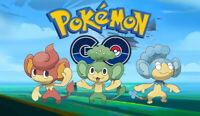 Pokemon Go Regional Acc Panpour, Pansage, Pansear