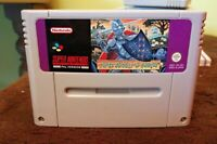 SNES GAME SUPER GHOULS N GHOSTS  GAME ONLY SUPER NINTENDO ENTERTAINMENT SYSTEM