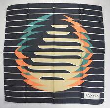 Lanvin Paris scarf multicolored square