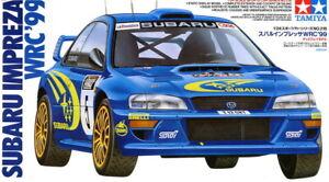 Tamiya Model kit 1/24 Subaru Impreza WRC 1999