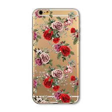 Hot Popular Charming Flowers Pattern Hard PC Back Case Cover For iPhone 5/SE/5S