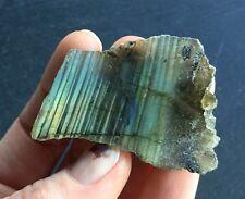 Labradorite Top Polished Crystal 20.4g 40mm Flash Shamans Stone Chakras LP2