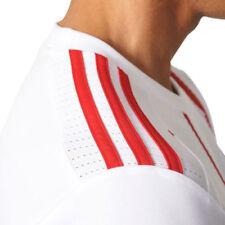 Camisetas de fútbol 3ª equipación para hombres blancos