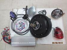 """48V/60V/72V/84V 3000W 10"""" Extreme Electric Scooter brushless Motor kit >100kph"""