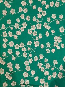 Hello Blossom - Floral Blossom Fabric - Woven Rayon - 1/2 metre