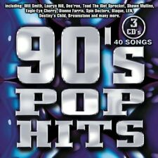 Various Artists : 90's Pop Hits / Various Alternative Rock 3 Discs Cd