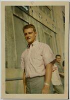 1964 ORIG TYPE 1 SIGNED SNAPSHOT PHOTO YANKEES ROGER MARIS BASEBALL AUTO ON BACK