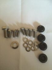 Lambretta Head & Flywheel Cowls Fixing Kit Stainless