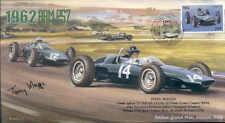 1962c BRM P57s & COOPER T60, ITALIAN GP, MONZA F1 cover signed TONY MAGGS