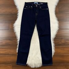 7 For All Mankind b(air) Womens Size 27 Dark Wash Roxanne Ankle Denim Jeans