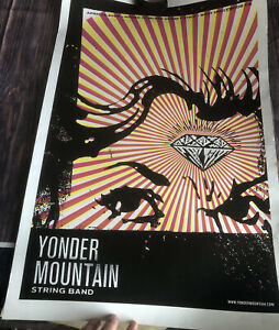 Yonder Mountain String Band Signed Poster