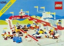 Lego 6395 Vintage Victory Lap Raceway, Original Instructions, No Box, 1988 Set