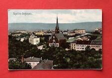 AK TEPLITZ SCHÖNAU 1908 Stadtansicht mit Kirche  ( 40426