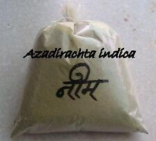 Organic Neem leaf powder - Azadirachta  - Neem powder for hair and skin care