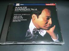 Mahler No 4 Jun Ichi Hirokami Japan cd 78832 Denon CD