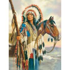 Indian Horse Full Drill Diamond Painting Handicraft Embroidery Cross Stitch New