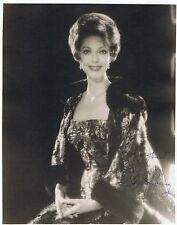 Loretta young-original signé großfoto AVEC COA