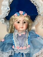 25� All Bisque Repro By Connie Zink Of Land Of Oz Brown Paper Weight Eyes