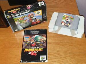 Mario Kart 64 (Boxed Game With Manual) - Nintendo 64 / N64 PAL Free postage