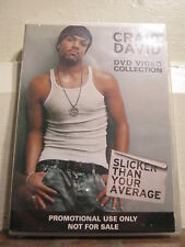 Craig David - DVD Video Collection - Brand New & Sealed - All Regions - DVD