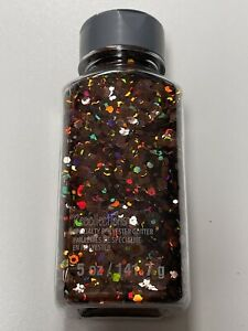 """Recollections Specialty Polyester Glitter In Shaker 5 oz Holo """"Cinnamon"""" NEW"""