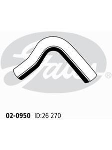 Gates Heater Hose FOR NISSAN DATSUN 120 Y KB 210 (02-0950)
