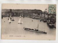 Dieppe - die FRONT Hafen (A9549)