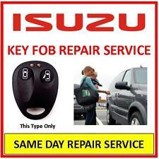 Isuzu  Key Fob Repair Service. Same Day Repair Service. Trusted Repairer