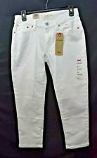 LEVIS BOYFRIEND WHITE JEANS 4 W27 NEW WITH TAG