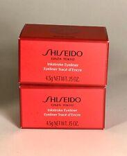 Shiseido Inkstroke Eyeliner GR604 Shinrin Green 4.5g Lot Of 2 New Free Shipping