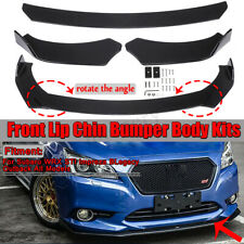 Front Bumper Lip Body Kit Spoiler For Subaru WRX STI Impreza Legacy 2002-2019