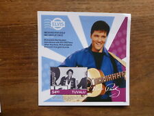 TUVULA 2016 ELVIS GOLD RECORDS MINI SHEET MINT STAMP