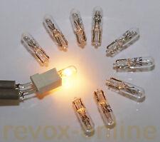 10 Lämpchen Lampen 24V 30mA Revox A76 A77 A700 A720 A722 B77 B750 B760 B215 PR99