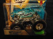BLUE THUNDER X-RAY  2018  Hot Wheels Monster Jam Truck  w/ Re-crushable Car