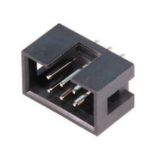 IDC 2x3 6-polig Stecker für Flachbandkabel 2,54mm Arduino Prototype Lötstecker