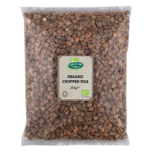 Organic Chopped (Diced) Figs 250g Certified Organic
