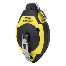 Stanley CHALK LINE REEL Rubber Overmold Grip, Water Resistant Case *USA Brand