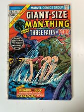 Giant Size Man Thing #5