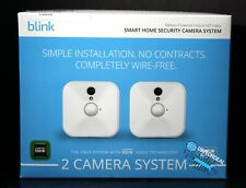 Blink Motion Detection Indoor Home Security Camera System - 2 Pieces, White