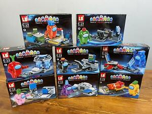 8Pcs Among Us Mini Figure Fit Lego 8 in 1 KIDS ADULT TOYS GIFTS